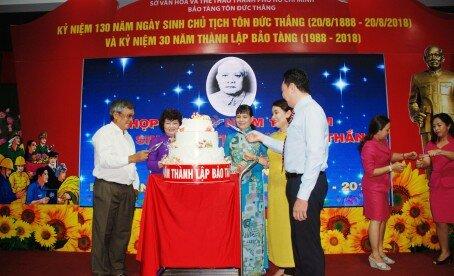 Kỷ niệm 30 năm thành lập Bảo tàng Tôn Đức Thắng (1988 - 2018)