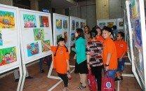 Lễ Tổng kết và Khai mạc Hội thi vẽ tranh