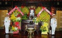 Lãnh đạo Thành phố Hồ Chí Minh dâng hương Chủ tịch Tôn Đức Thắng